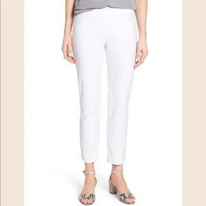 NWOT Ellen Tracy Side Zip Ankle Pants